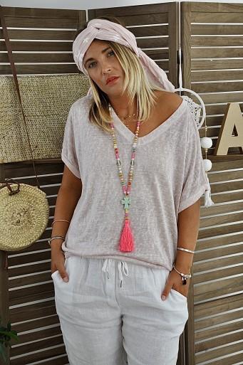 Tee-shirt Sylvia Pink