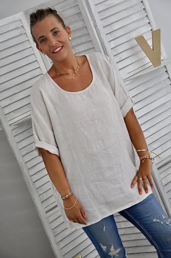 Tee-shirt Amanda Lin Beige