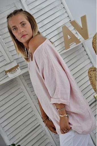 Tee-shirt Amanda Lin Pink