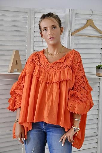Blouse Anastasia Orange
