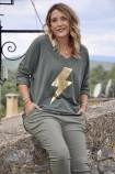 T-Shirt Claire Kaki